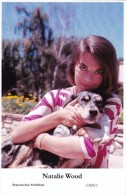 NATALIE WOOD - Film Star Pin Up - Publisher Swiftsure Postcards 2000 - Artistes