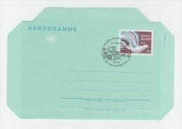 GOOD UN Vienna Aerogramme 1982 - FDC - FDC
