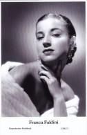 FRANCA FALDINI - Film Star Pin Up - Publisher Swiftsure Postcards 2000 - Artiesten
