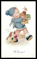 "ILUSTRADORES -Beatrice Mallet - All For You! ( Ed.Raphael Tuck & Sons ""Oilette"" Nº 3568) Carte Postale - Mallet, B."