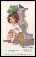 """ILUSTRADORES - Agnes Richardson - """"The Times Seems Long..."""" ( Ed.Artistique Séries Nº 1769) Carte Postale - Illustrateurs & Photographes"""