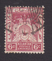 Kelantan, Scott #21, Used, Symbols Of Government, Issued 1921 - Kelantan