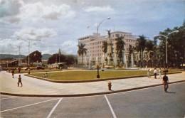 """03897 """"REPUBLICA DE EL SALVADOR C.A. - PARK LIBERTAD - WITH NEW OFFICE BUILDINGS"""" ANIMATA. CART. NON  SPED. - El Salvador"""