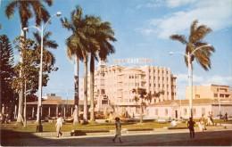 """03898 """"REPUBLICA DE EL SALVADOR C.A. - PARQUE LIBERTAD - Y EDIFICIO EL CAFE - EXIJA CAFE PURO"""" ANIMATA. CART. NON  SPED. - Salvador"""
