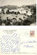 La France Touristique     Village De Lama  Corse Vue D'ensemble     Oblitération Losange Pointillé Du 9/05/1966 - Postmark Collection (Covers)