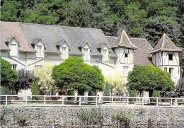46 - BRETENOUX : Hostellerie BELLE RIVE ( Hotel Restaurant ) CPM GF - Lot - Bretenoux