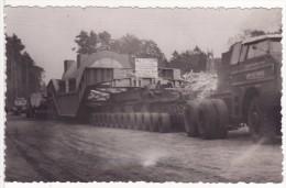 Carte Postale Photo TRANSPORT-CAMION-POIDS LOURDS-STATOR-Belfort-Carling-ALSTHOM-Transport Gary De Favies 170 Tonnes - Camion, Tir