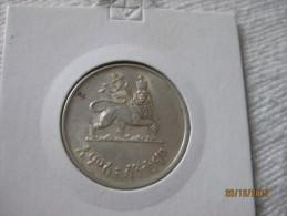 Ethiopie 50 Santeem 1936 EE = 1944 (nedj Shilling) - Ethiopie
