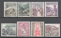 Andorre Espagnol: Yvert N°53/60**; MNH - Neufs