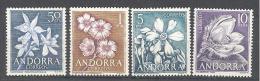 Andorre Espagnol: Yvert N°61/4**; MNH; Fleurs; Flore - Neufs