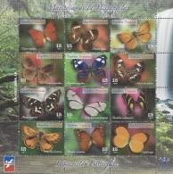 DOMINICAN REPUBLIC BUTTERFLIES, FAUNA MARIPOSAS DE LA HISPANIOLA, MNH 2014 NEW - Schmetterlinge