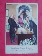 Cpa Fantaisie Illustrateur HOLZER  MD PARIS Serie N° 025 - Holzer, Adi