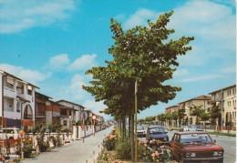 COPPARO - VIA ALDO MORO - AUTO D'EPOCA CARS VOITURES : FIAT 500 FAM. - RENAULT 4 - AUTOBIANCHI A112 - Italia