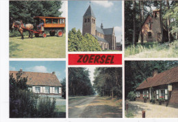 Grote Kaart Groeten Uit Zoersel Kempen Noorderkempen Voorkempen - Zoersel