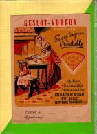 PROTEGE CAHIER  :GESLOT VOREUX Petit Beurre Dessert - Protège-cahiers