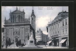 AK Ljubljana / Laibach, Marijin Trg., Marien-Platz - Slovenia