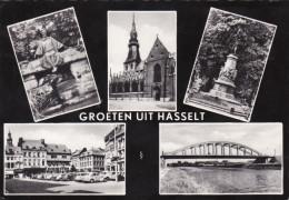 Grote Kaart Groeten Uit Hasselt - Hasselt