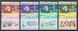 Britische Gebiete In Der Antarktis BAT 1971 Michel N° 39-42 MNH - British Antarctic Territory  (BAT)