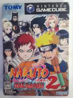 GameCube Japanese : Naruto Gekitou Ninja Taisen 2   GS-DOL-GNUJ-JPN - Nintendo GameCube