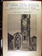 Le Cento Città D'Italia Con Tante Incisioni Chivasso E Dintorni, Torino - Ohne Zuordnung