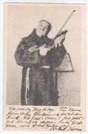 Germany Deutschland 1902 Music Musik Musique Instrument, Violin Violinist Geige Geiger, Canceled In Muenchen - Música Y Músicos