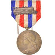 France, Médaille D'honneur Des Chemins De Fer, Medal, 1924, Excellent Quality - Militares