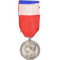 France, Ministère Des Affaires Sociales, Medal, 1972, Good Quality, Argent, 27 - Militaria