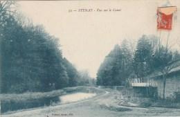 STENAY (Meuse) - Vue Sur Le Canal - Stenay