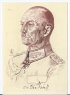 Dt.- Reich (A0849) Propagandakarte Willrich, Männer Der Westfront Generaloberst V. Rundstedt, Ungebraucht - Germany
