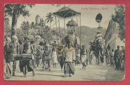 Sri Lanka / Ceylon - Kandy Perahera - 1912  ( Voir Verso ) - Sri Lanka (Ceylon)