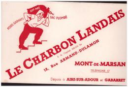 Buvard CHARBON LANDAIS (Mont De Marsan) (PPP1773) - C