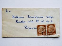 Cover Sent From Latvia, Deutsches Reich 1941 - Lettonie