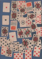 CARTES A JOUER - MINI JEU PUBLICITAIRE BOUILLON KUB - 4.8 X 3.5 Cm - 32 Cartes
