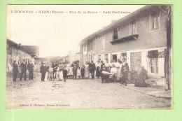 HANS : Rue De La Barre, Café Guillaume. 2 Scans. L'Argonne. Edition Moisson - France