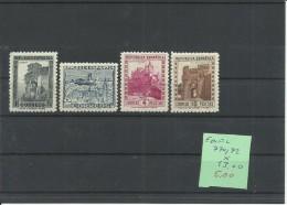 ESPAÑA EDIFIL 770/72  MH  * - 1931-50 Nuevos & Fijasellos