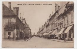 25 DOUBS - PONTARLIER Grande Rue - Pontarlier