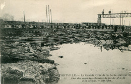 ALFORTVILLE(VAL DE MARNE) INONDATION(TRAIN) - Alfortville