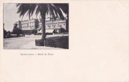 MONTE CARLO HOTEL DE PARIS (DIL162) - Monte-Carlo