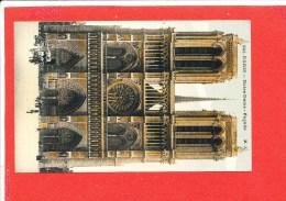 75 PARIS Cpa Animée Façade Notre Dame De Paris         541 M J - Notre Dame De Paris