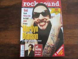 ROCK SOUND MARILYN MANSON N 49 JUILLET AOUT 1997 - Musique