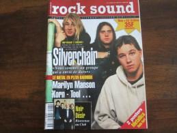 ROCK SOUND SILVERCHAIR  KORN MARILYN MANSON TOOL  N 43  JANVIER 1997 - Musique