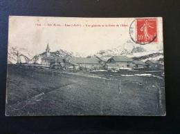 Lans Vue Générale Et La Croix De L Alpe - France