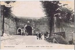 Cpa  Montreuil Sur Mer La Porte De  Bourgogne - Montreuil