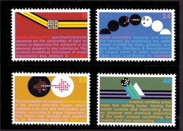 Australia 1975 Scientific Development Set Of 4 MNH - 1966-79 Elizabeth II
