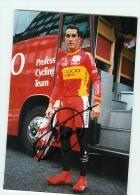 Angel CASERO, Autographe Manuscrit, Dédicace . 2 Scans. Lire Descriptif. Cyclisme. Vitalicio 1998 - Cycling