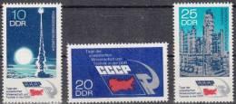 DDR 1887-1889 Postfrisch ** (17509) - Unused Stamps