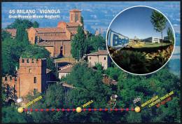 CYCLING - ITALIA MONTEVEGLIO (BO) 1997 - 45^ MILANO / VIGNOLA - ARRIVO GRAN PREMIO BRUNO BEGHELLI - CARTOLINA UFFICIALE - Ciclismo