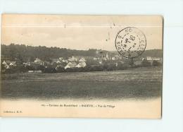 MONTBELIARD Et Ses Environs - BADEVEL : Vue Générale Du Village - Précurseur - 2 Scans - Montbéliard