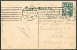 C.V. De LIBAU 22-XI-1922 Au Consul Général De Belgique à Riga. - 10970 - Lettonie