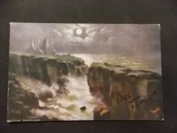 Girniego Castel Wick Oilette Raphael Truck & Sons 10051 Moonlit Seas - Tuck, Raphael